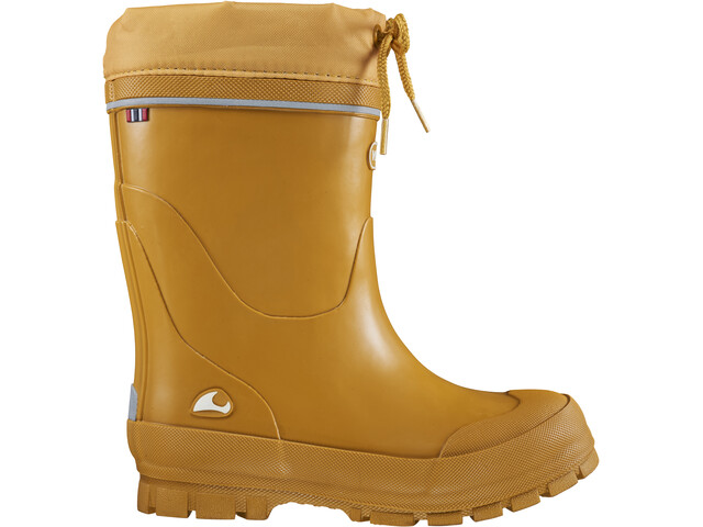 Viking Footwear Jolly Thermo Botas Agua Goma Niños, amarillo
